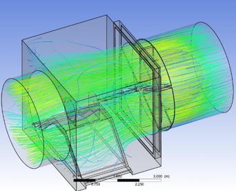 4th airWAVE™ turbine fluid dynamics simulation