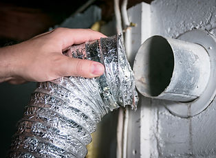 Dryer Vent cleaning and bath fan installation