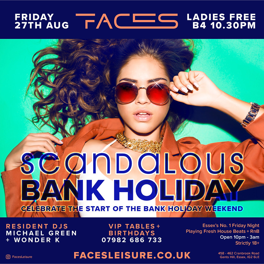 Scandalous Bank Holiday Special