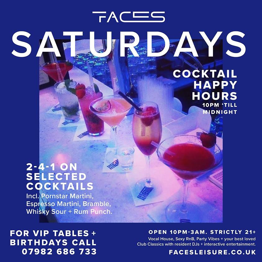 Saturday 2-4-1 Cocktails