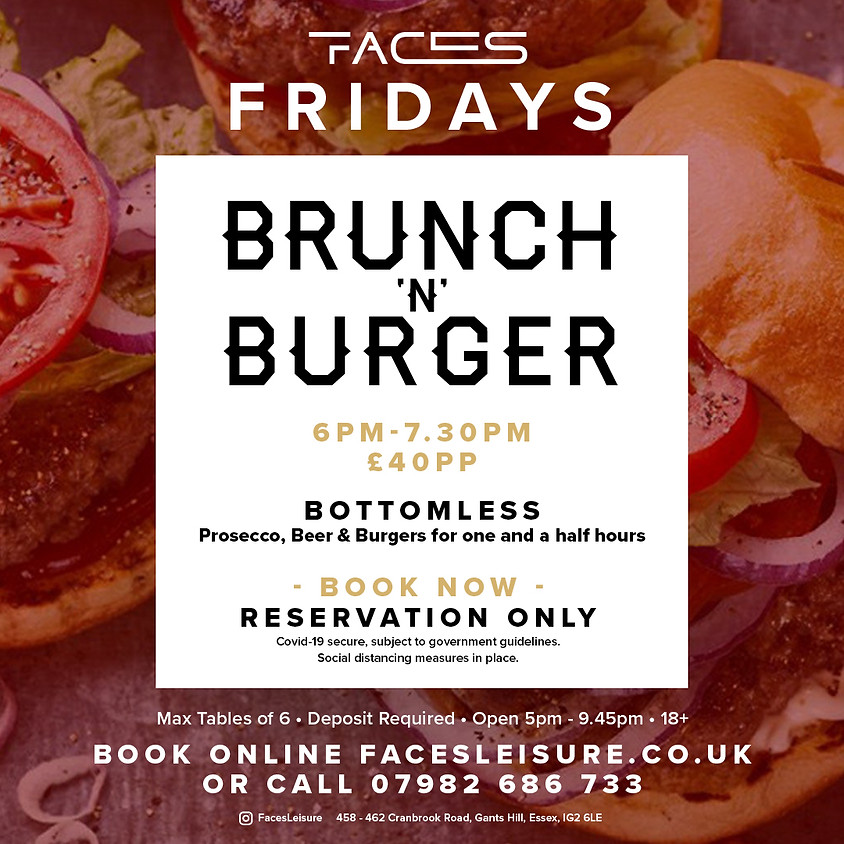 Burger 'N' Brunch Fridays