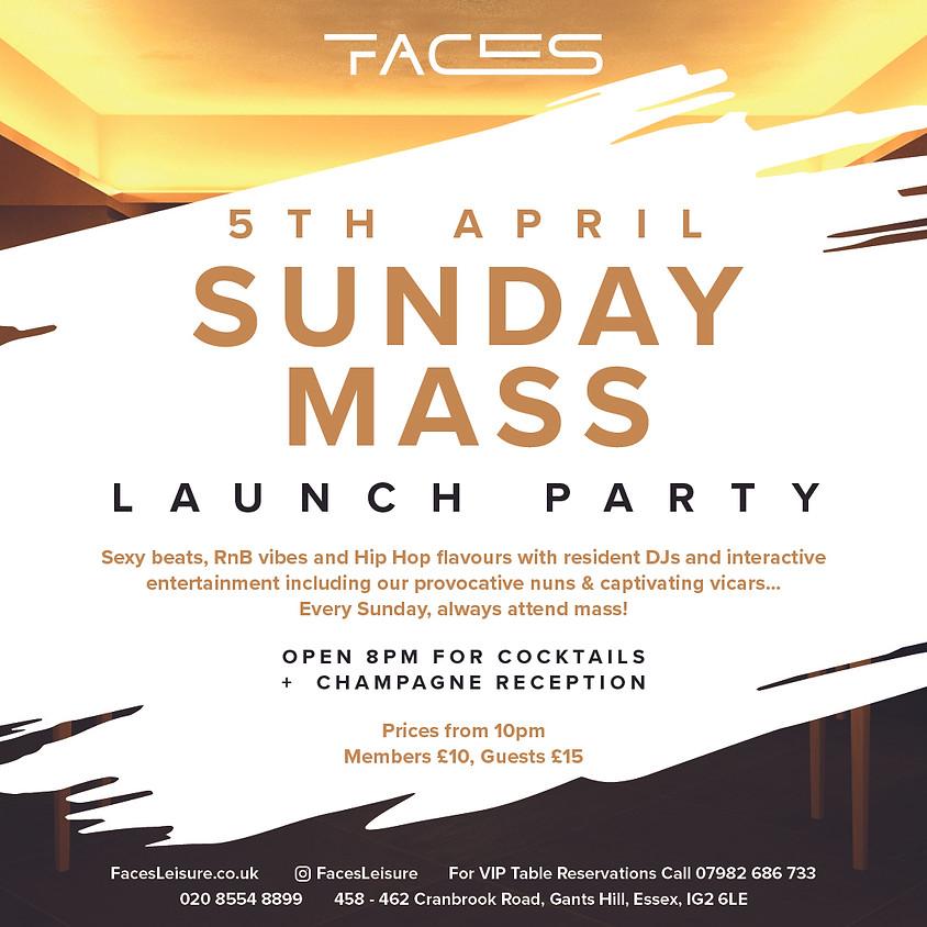 Sunday Mass Launch