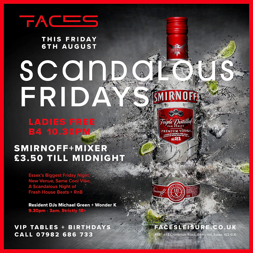 Scandalous Club Fridays