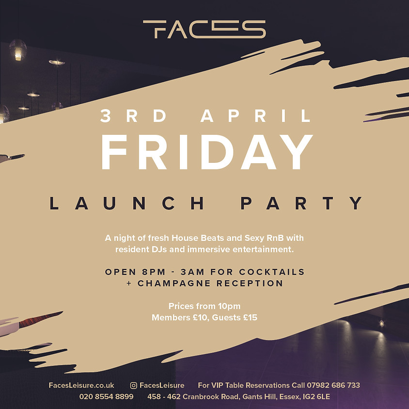 Friday Launch Night