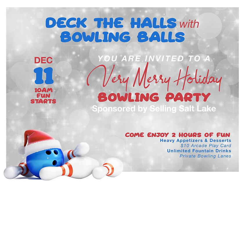 Very Merry Holiday Bowling Party