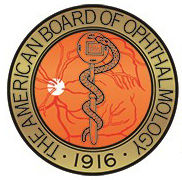 American Board of Opthomology icon coin.