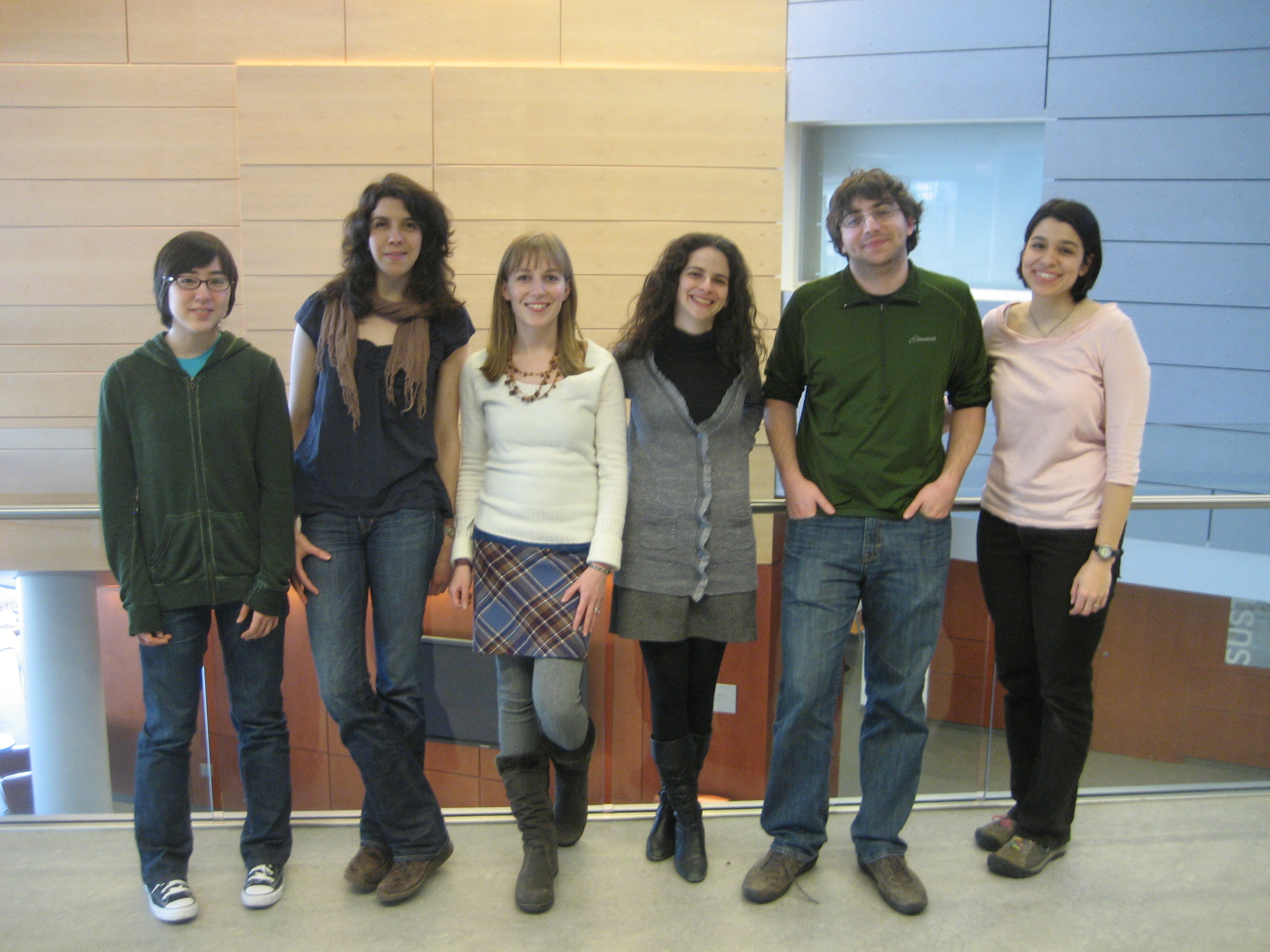 The Original Lab Photo - Winter 2011