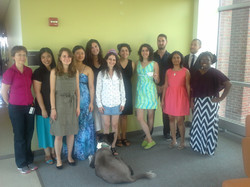 Lab Tea Party  - Summer 2013
