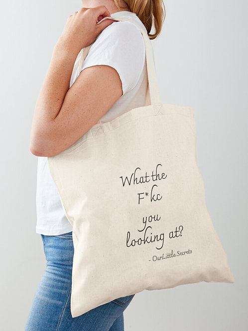 What the .... Tote bag