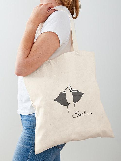 Ssst Tote Bag