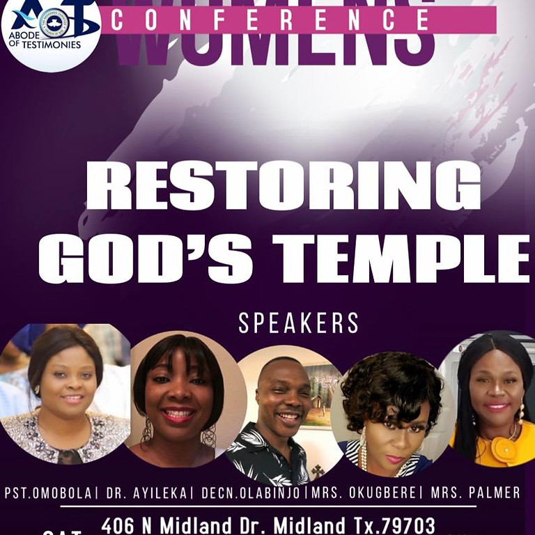 WOMEN'S CONFERENCE-Restoring God's Temple