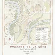 Domaine de la Côte Estate Map