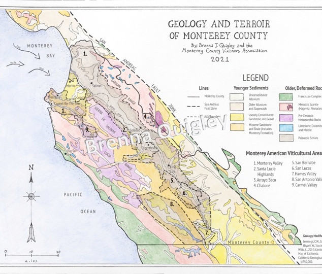 Monterey County Geology