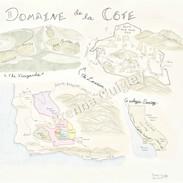 Domaine de la Côte Location Map