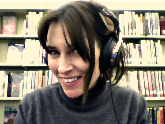 Writing with my noise-cancelling headphones