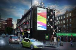 Commercial artwork hybrid example
