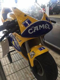 M. MOTO BLATA CAMEL 450€