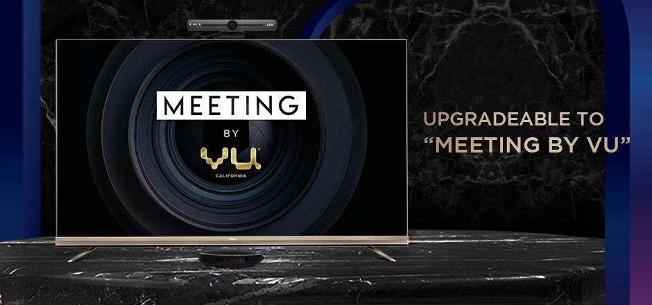Vu Masterpiece TV - Upgradable to Meeting by Vu