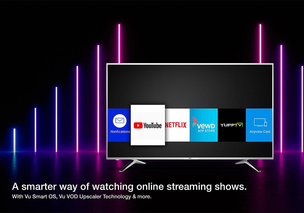 Pixelight TVs | Vu Televisions