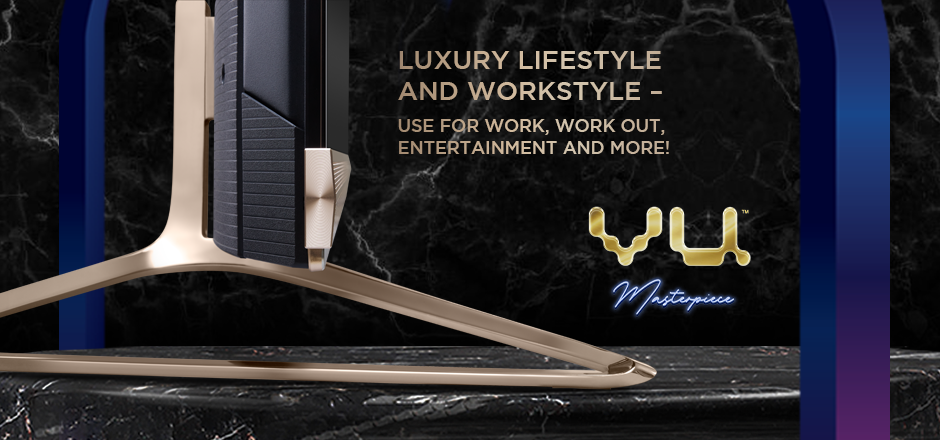 Vu Masterpiece TV - Luxury lifestyle and workstyle