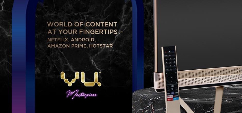 Vu Masterpiece TV - World of content