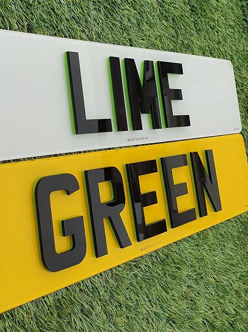 4D LASER + LIME GREEN