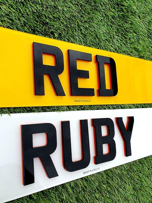 4D LASER + RUBY RED