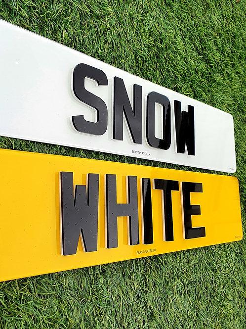 4D LASER + SNOW WHITE