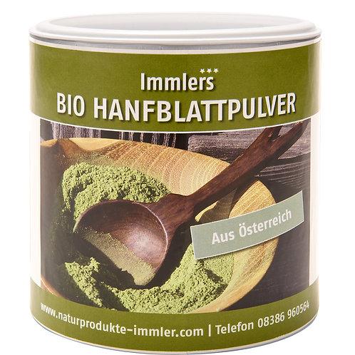 Hanfblatt-Pulver