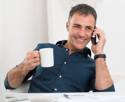 dnpost-happy-coffee-phone-guy-domain-bro