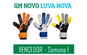 Promoção: GM Novo Luva Nova – Vencedor Semana 1