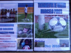 Novo DVD Treinamento de Goleiro – Prof. Marcelo Pires
