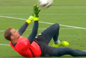Treinando com Manuel Neuer