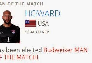 Tim Howard incansável