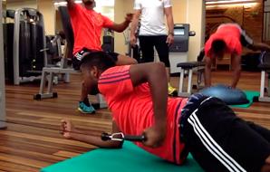 Musculação para Goleiros