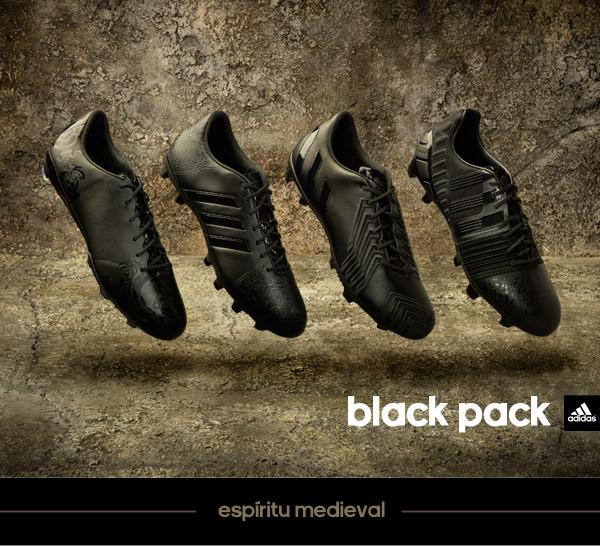 chuteiras adidas black