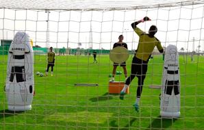 Um dia de treinamento com Marcos Abad (Elche F.C)
