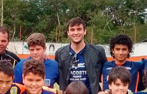 Goleiro do Verdão e da Seleção Brasileira visita Camisa 1
