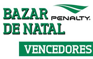 Vencedores Promoção Bazar de Natal Penalty