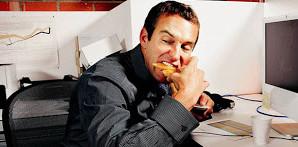 Como tu te alimentas no trabalho?