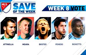 Defesas da Semana na MLS