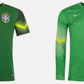 Camisetas de Goleiros na Copa