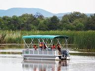 Crocodile Pools River Safaris Botswana p