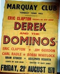 Derek& Dominos Poster 1970