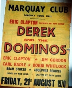 Derek& Dominos Poster 1970