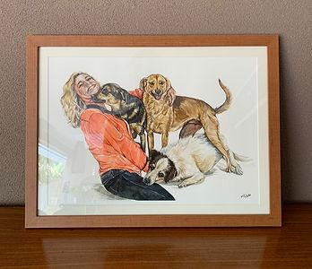 retrato família