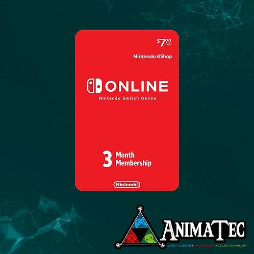 Online de Nintendo - 3 meses