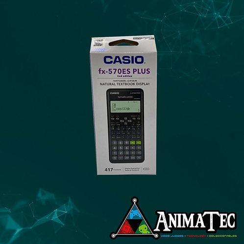 Calculadora Casio 570ES Plus