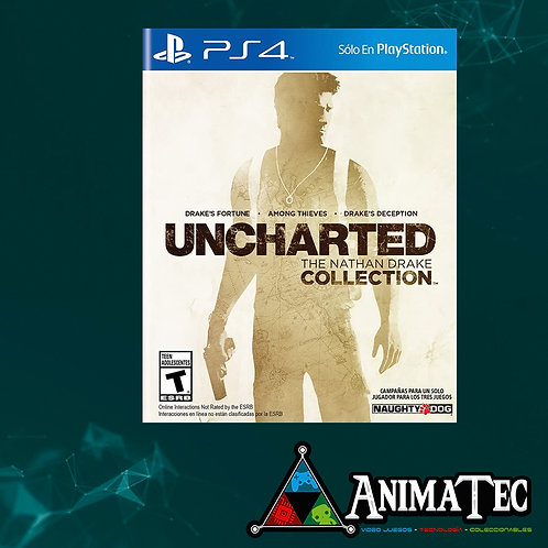 Uncharted - Nathan Drake Collection (3 en 1)