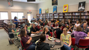 Richmond Hill High School engaging in emBRACE training.
